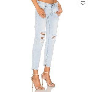 One Teaspoon Freebirds Distressed Light Jeans 24